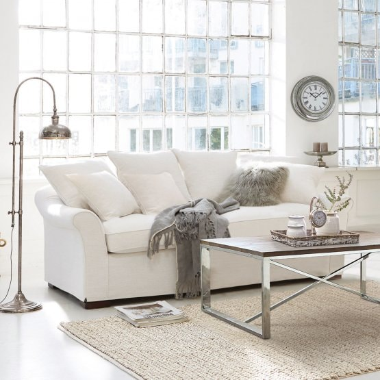 Sofa Long Beach creme