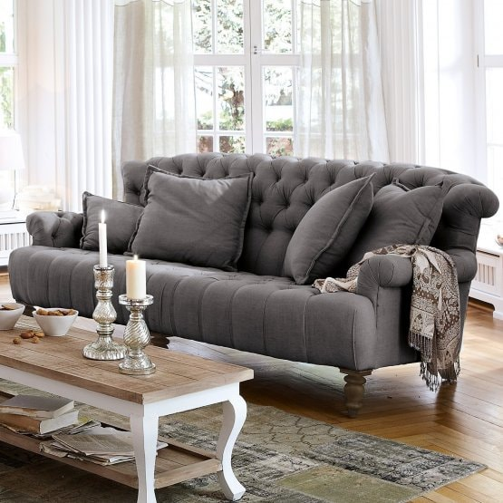 Sofa Springfield Village anthrazit